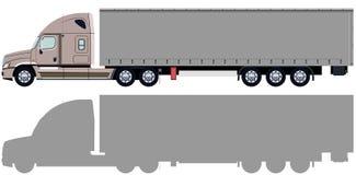 Beż ciężarówka Obraz Royalty Free