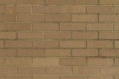 Beżowa cegły ściana Obrazy Stock