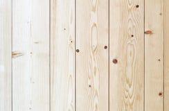 Beżowa drewniana rocznik deski podłoga lub ściany powierzchnia Zdjęcia Stock