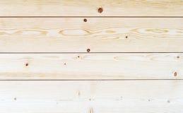 Beżowa drewniana rocznik deski podłoga lub ściany powierzchnia Zdjęcie Royalty Free