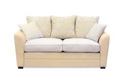 Beżowa kanapa Obraz Stock