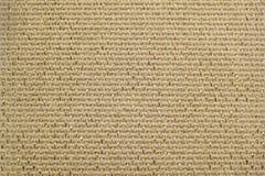 Beżowa naturalna bieliźniana tkanina z błyskotliwości lurex złotym zakończeniem Zdjęcia Stock