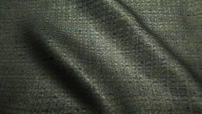 Beżowej tkaniny cajgów wysokiej jakości tekstura, rusza się fala, Bezszwowa pętla zbiory