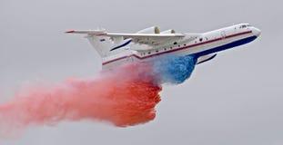 BE-200 aereo (2) Fotografie Stock