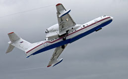 BE-200 plane (1) Royalty Free Stock Image