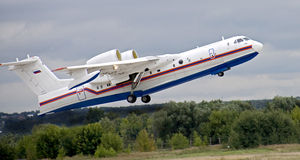 BE-200 plane (3) Royalty Free Stock Image