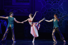 """Be able to achieve success one way or another- ballet """"One Thousand and One Nights"""". Ballet One Thousand and One Nights is based on the fairy tale Stock Photos"""