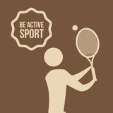 Be Active design Royalty Free Stock Image