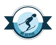 Be Active design Stock Photography