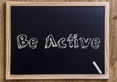 Be active Stock Photography
