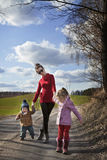 Be active stay healthy - autumn walk Stock Photos