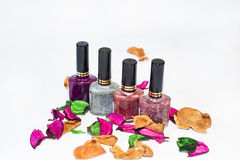 Be Beautiful!. Keep your nails always beautiful Royalty Free Stock Photography