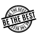 Be The Best rubber stamp Royalty Free Stock Photos