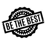 Be The Best rubber stamp Royalty Free Stock Image