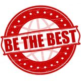 Be the best. Stamp with text be the best inside, ilustration royalty free illustration