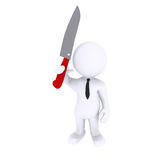 Be careful with the Knife Stock Photography