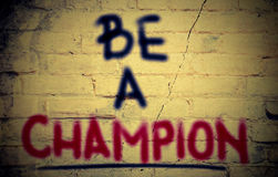 Be A Champion Concept royalty free stock photo
