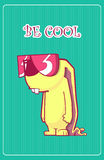 Be cool. Royalty Free Stock Photo