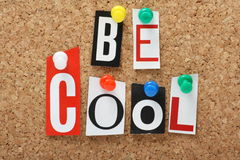 Be Cool Stock Photography