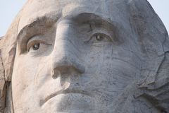 Be Courteous To All, But Intimate With Few, And Let Those Few Be Well Tried Before You Give Them Your Confidence. Close-up view of George Washington at Mount Royalty Free Stock Photo
