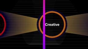 Be creative stock video