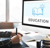 Be Creative E-learning Innovation Education Knowledge Concept. Be Creative E-learning Innovation Education Knowledge Stock Photo