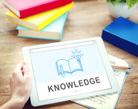 Be Creative E-learning Innovation Education Knowledge Concept. People Creative E-learning Innovation Education Royalty Free Stock Images