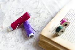 Be Creative Tools Needle Thread stitching Stock Photo