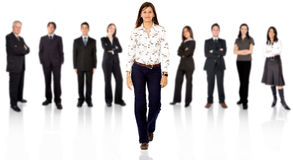 Be different - business team Stock Photography