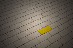 Be Different. Yellow Royalty Free Stock Photo