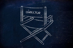 Be the director of your own life, chase your dreams, meet your g Royalty Free Stock Photography