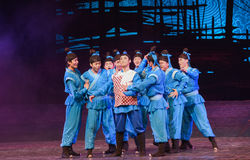"Be elected as a leader-Dance drama ""The Dream of Maritime Silk Road"" Royalty Free Stock Image"