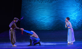 """Be entrusted with a mission at a critical and difficult moment-Dance drama """"The Dream of Maritime Silk Road"""". Dance drama """"The Dream of Maritime stock photo"""