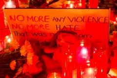Be för Barcelona 08 Arkivbilder