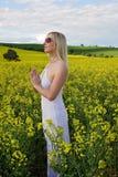 Be för för skördskörd för regn bra jordbruk Royaltyfri Foto
