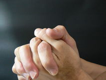 be för händer Royaltyfri Fotografi
