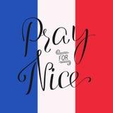 Be för Nice Arkivfoto