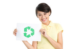 Be friend to our planet! Stock Photo