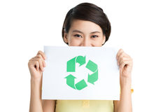 Be friendly to your planet! Royalty Free Stock Images