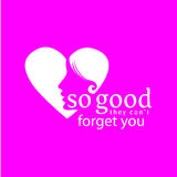 Be So Good_love icon Stock Photography