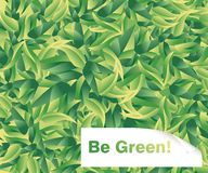 Be Green Stock Photography