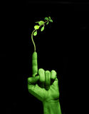 Be Green Royalty Free Stock Photography