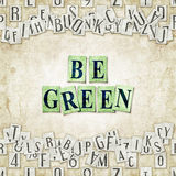 Be green Stock Photos