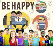 Be Happy Activity Leisure Activity Concept royalty free stock photo