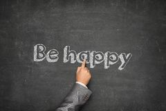 Be happy concept Stock Image