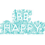 Be happy Royalty Free Stock Image