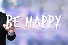 Be Happy Joyful Free Happy Enjoyment Playful Freedom Happiness L Stock Photography