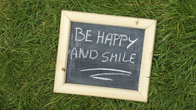 Be happy and smile Royalty Free Stock Photography