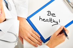 Be healthy Royalty Free Stock Image
