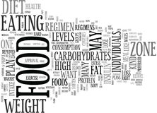 Free Be In The Zone With The Right Food Plan Word Cloud Royalty Free Stock Photo - 96642195